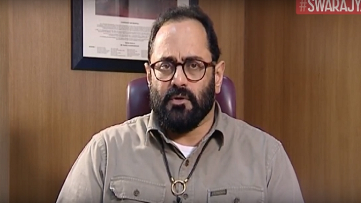 Watch: We Need More Entrepreneur-Turned-Politicians Than The Other Way Around, Says Rajeev Chandrasekhar