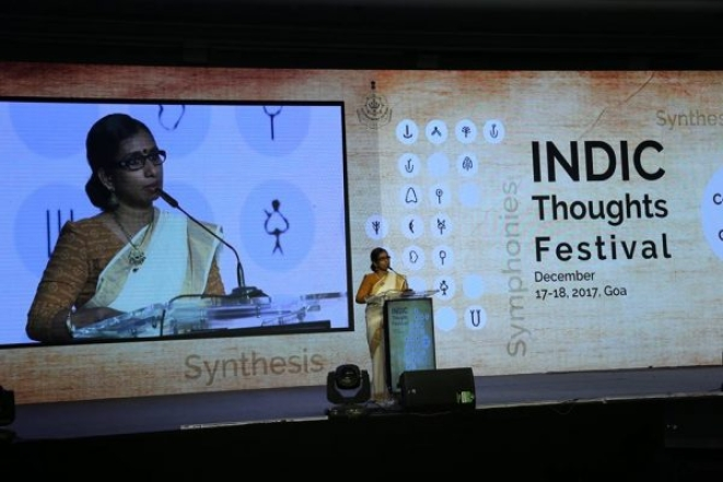 "Dr Sangeetha Menon talking about ""Indian Theories on Consciousness"""