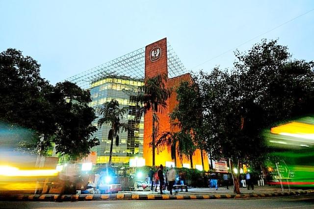 LIC building at Janpath in New Delhi. (Priyanka Parashar/Mint via GettyImages)