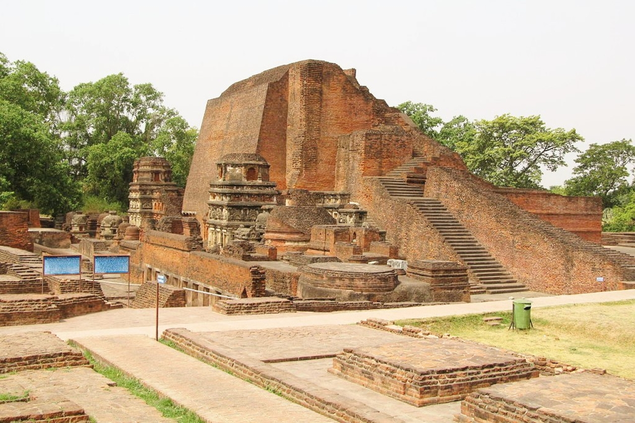 Ruins of Nalanda University (Mrityunjay.nalanda/Wiki Commons)