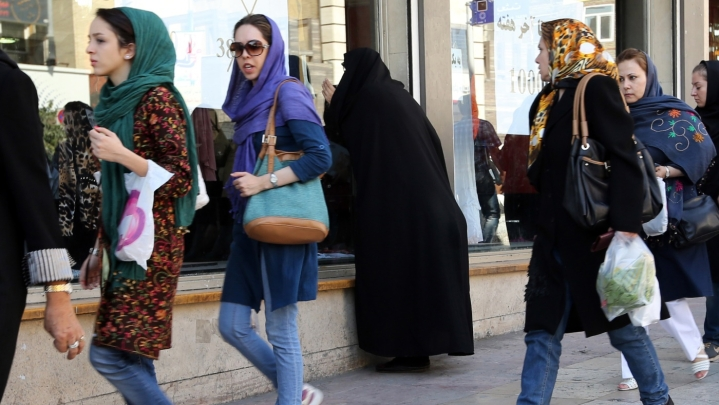 In Islamic Iran, Many Women Rise In Revolt Against Hijab Imposition