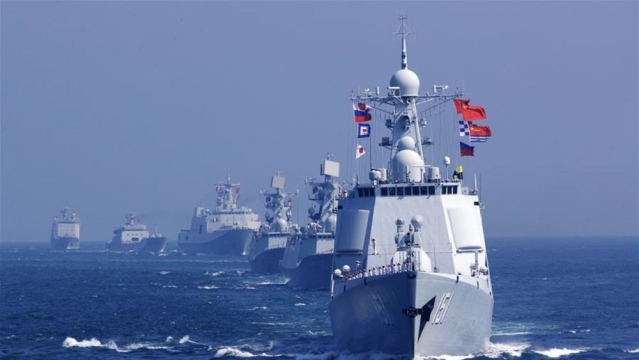 Eleven Chinese Warships Enter Indian Ocean Amid Ongoing Crisis In The Maldives