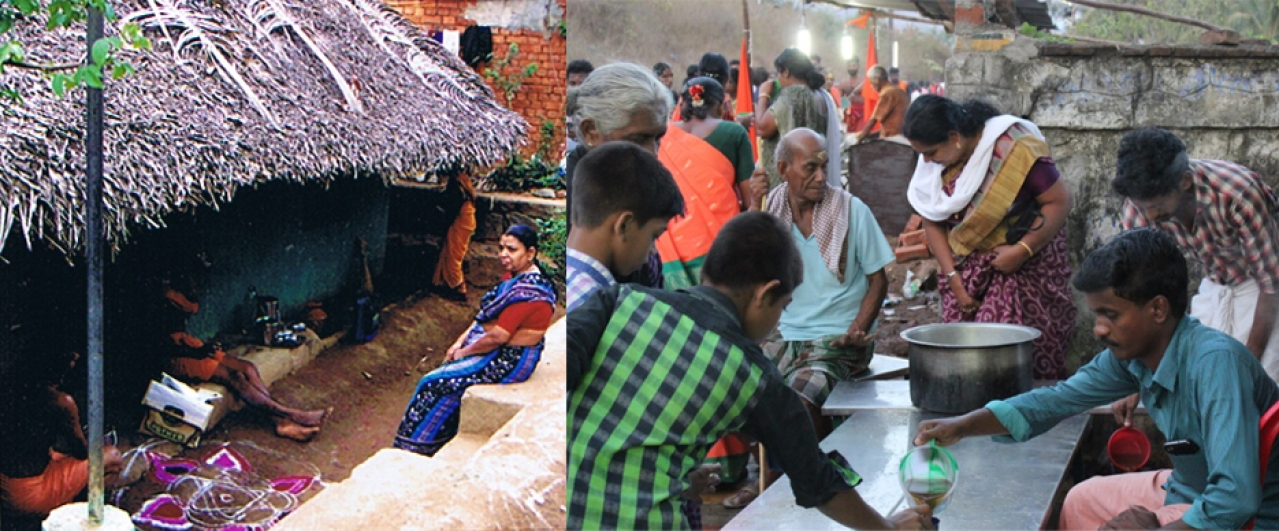 Spontaneous Annadanam: Every house becomes a home for the devotees of Shiva
