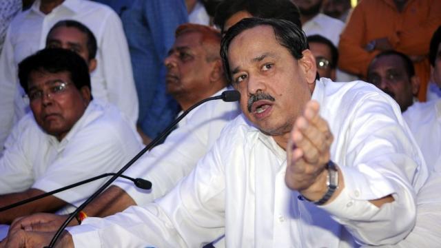 Naseemuddin Siddiqui Joins Congress: Mayawati Will Not Be Angry, Says Ghulam Nabi Azad