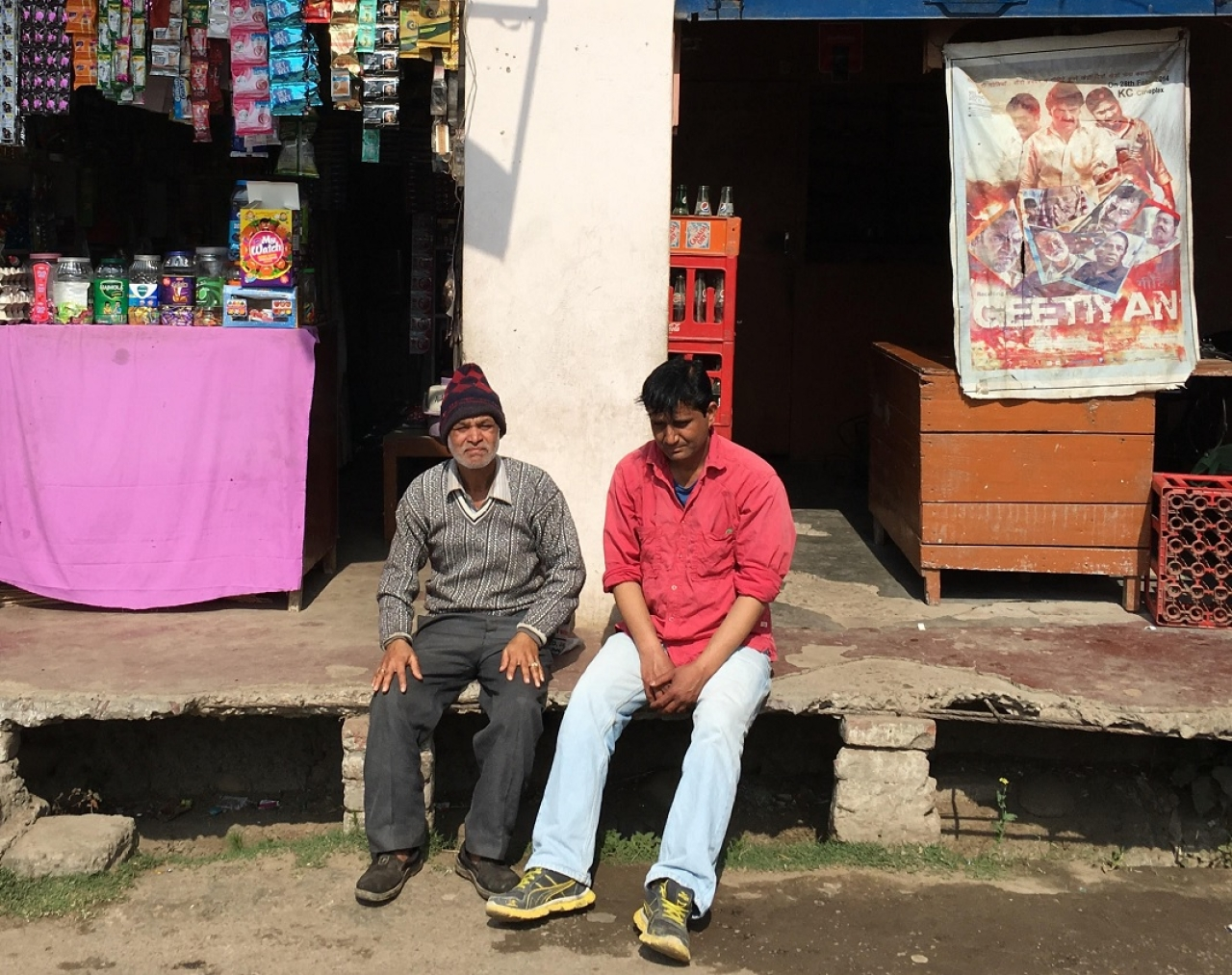 Residents of a nearby Hindu colony named Rajeev Nagar