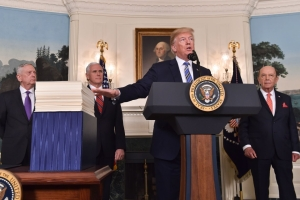 """""""I Will Never Sign A Bill Like This Again"""", Says Trump As He Signs In A $1.3 Trillion Bill Averting A Government Shutdown"""