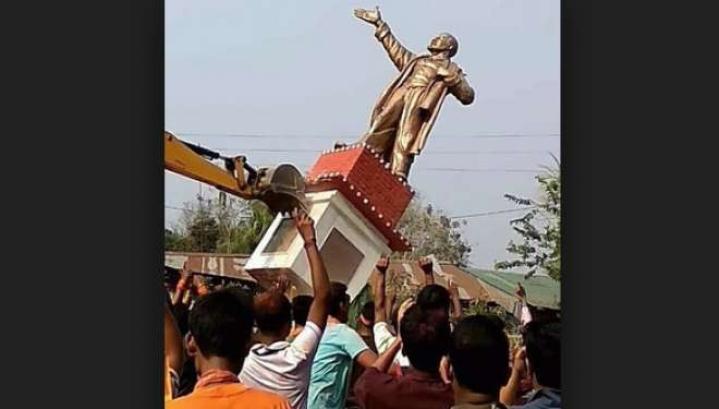 Vandalism Isn't On, But Surely Lenin's Statue Belongs To The Museum