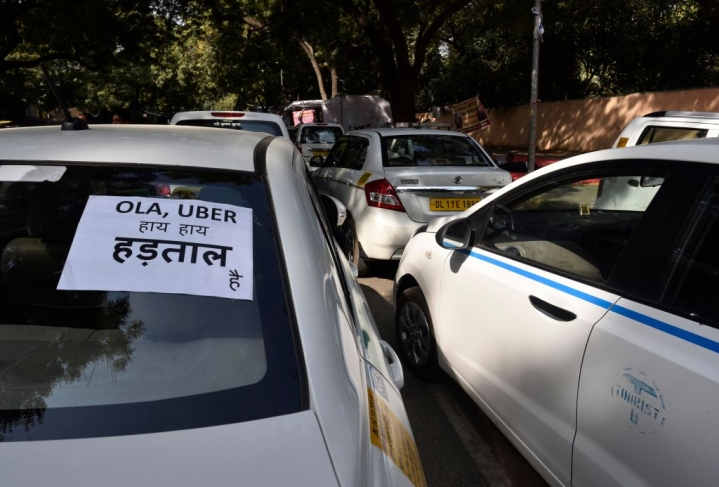 Mumbai: Uber And Ola Strike Cripples City, Enters Second Day