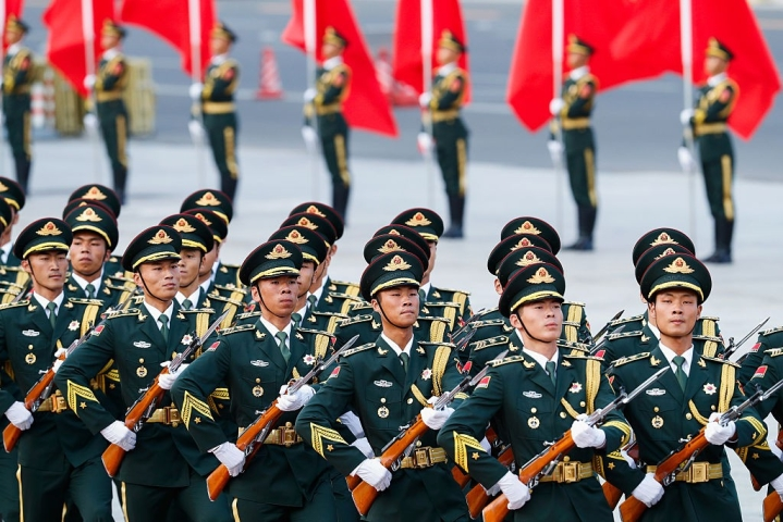 China Announces Trillion Yuan Defence Budget - Three Times That Of India