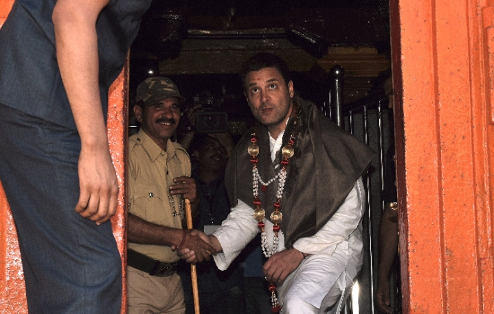 Rahul Gandhi Continues Temple Run In Karnataka, Calls Tipu Sultan A 'Symbol Of Communal Harmony'