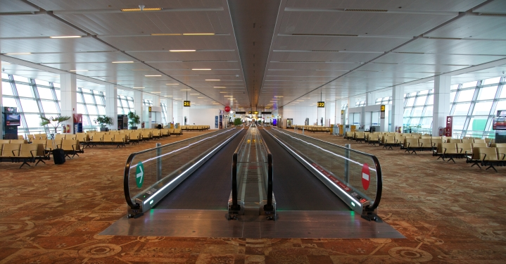 Chennai Airport Travelator To Connect Terminals, Metro Rail By Month-End