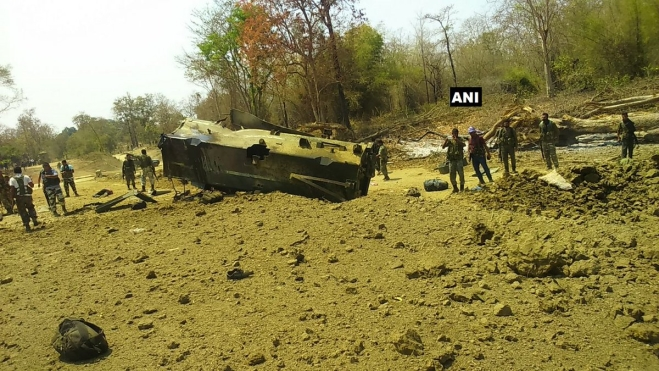 Sukma Naxal Attack: Nine CRPF Jawans Killed In Explosion
