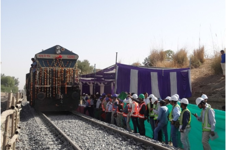 Train Reaches 100 Kmph Speed In First-Ever Trial Run On Western Dedicated Freight Corridor
