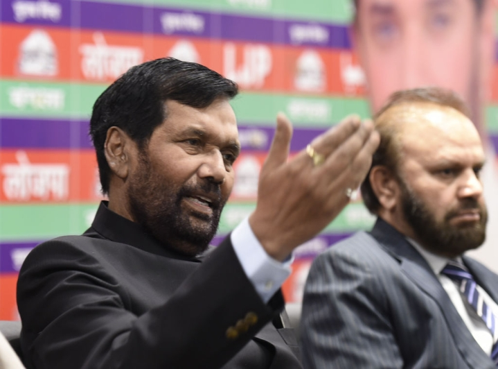 Paswan Says He Is Not Manjhi, Rubbishes Speculations About Joining RJD-led Alliance
