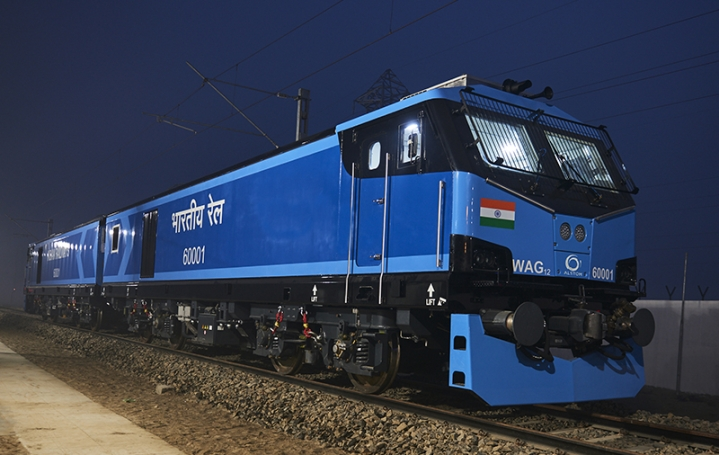 Indian Railways To Induct First  12,000 Horsepower High-Speed Electric Locomotive Today