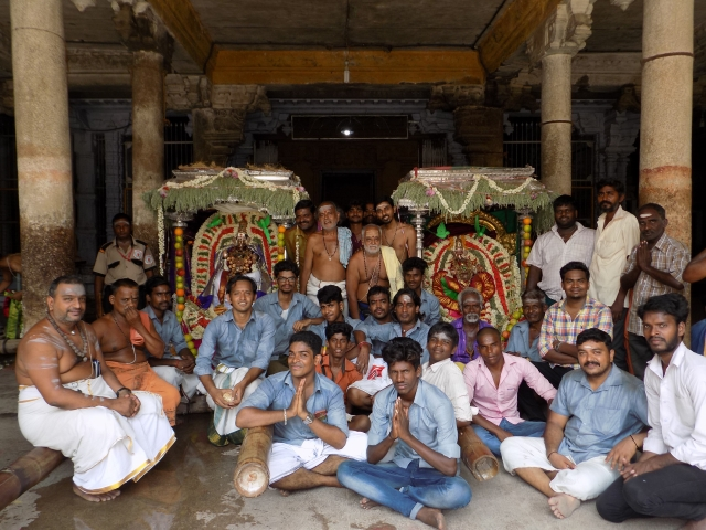 A committed group of temple enthusiasts offers a lesson in reclaiming a temple.