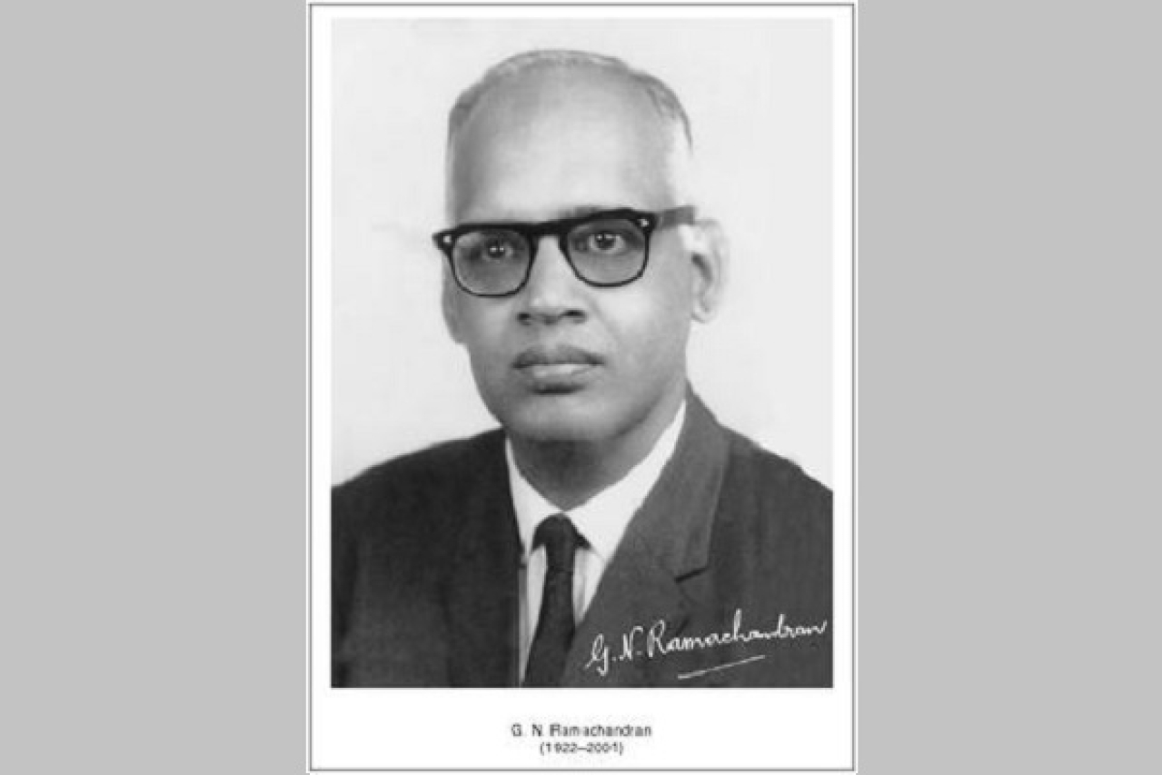 Indian physicist G N Ramachandran (Current Science/Wikimedia Commons)