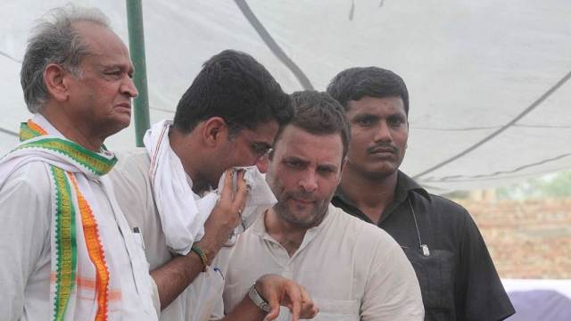 Congress Caught Between A Rock And A Hard Place In Rajasthan