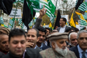 Kashmiri, Khalistani Separatist Groups Led By Pakistani-Origin British MP Tore Down Indian Flag In UK