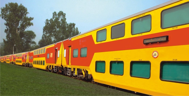 Indian Railways To Roll Out First Double-Decker UDAY Express Between Coimbatore and Bengaluru