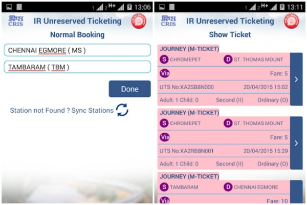 Indian Railways Offers 5 Per Cent Discount To UTS App Users To Push For 'Ticketless Travel'