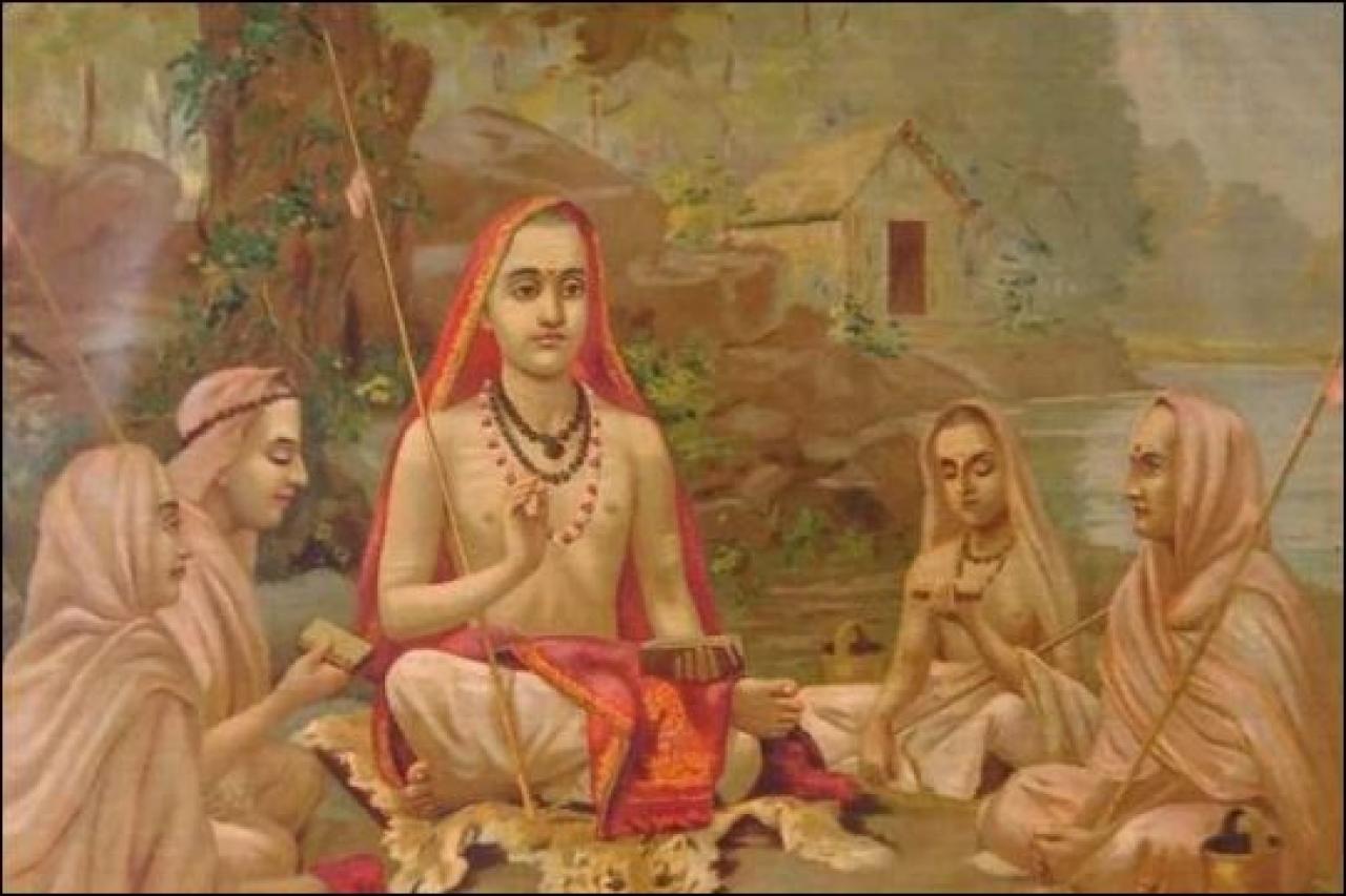 The celebrated Adi Shankara