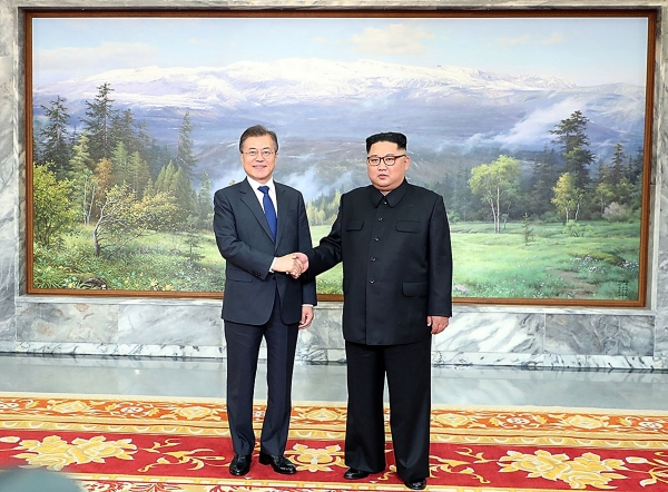 South Korean President Moon Jae-In Holds Surprise Meeting With Kim Jong-Un As Uncertainty Of US Summit Looms