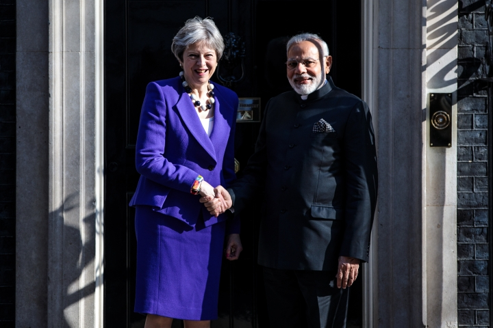 Modi To May: Jails For Mallya Same As Ones Where You Kept Nehru And Gandhi