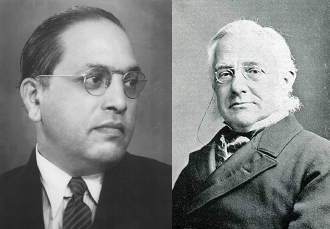 Dr Ambedkar analysed the interpretation Prof Max Muller gave for the term 'anasa' and rejected it.