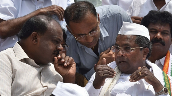 Cracks Widening Before Floor Test:   No Decision On Backing Kumaraswamy For Five Years, Says Karnataka Deputy CM