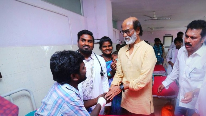 Rajinikanth Lambasts Anti-Social Elements For Sterlite Deaths; Says Cannot Demand CM's Resignation At Every Turn