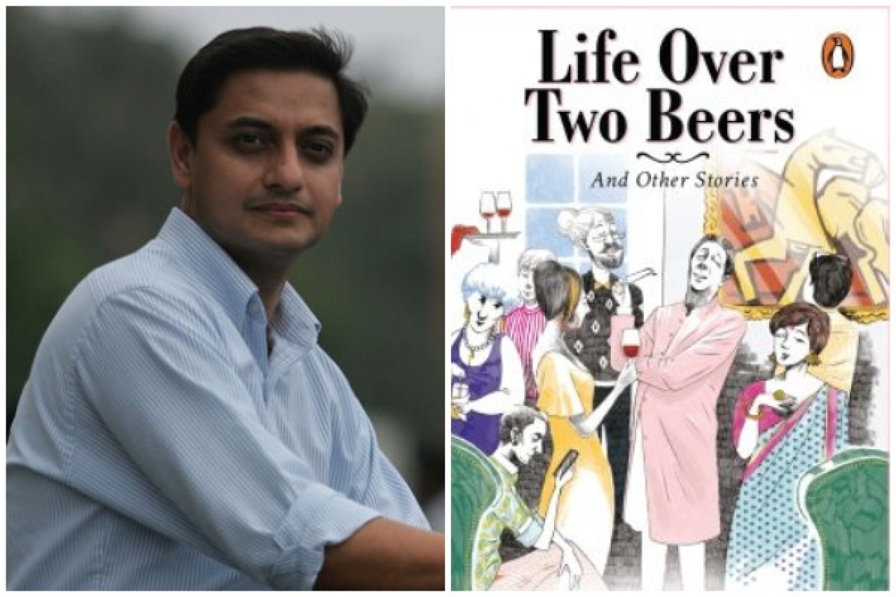 Sanjeev Sanyal's new book, <i>Life Over Two Beers, And Other Stories</i>
