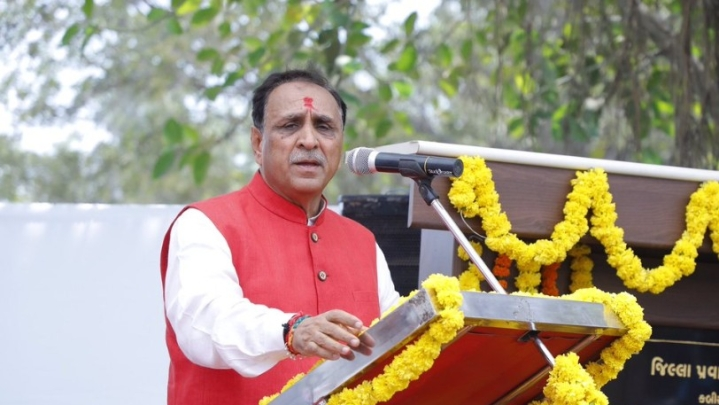 On Gujarat Foundation Day, Vijay Rupani Reaffirms Commitment To Youth, Farmers, And Ram Mandir