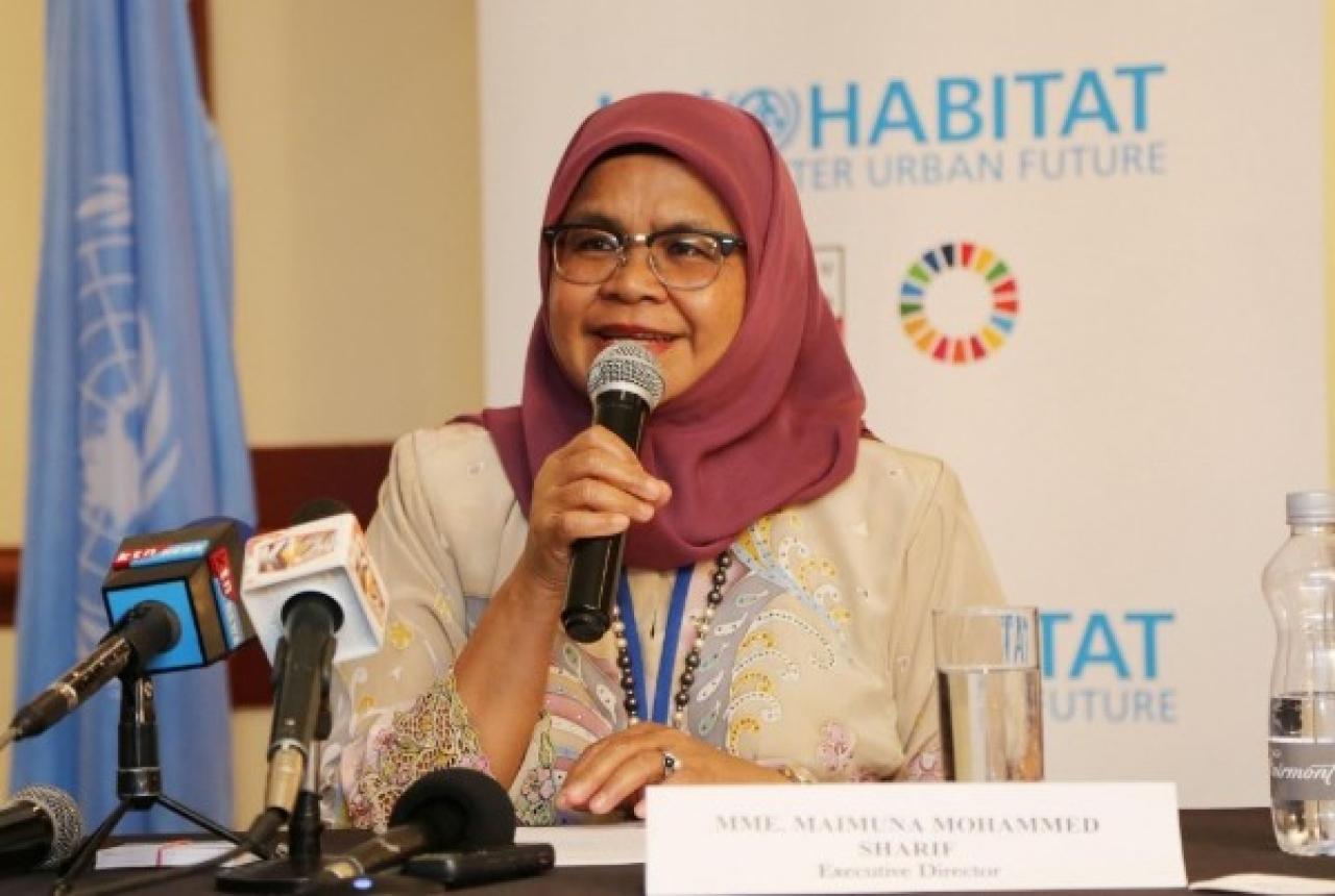 UN-Habitat executive director Maimunah Mohd Sharif (UN-Habitat Photo Gallery/Flickr)