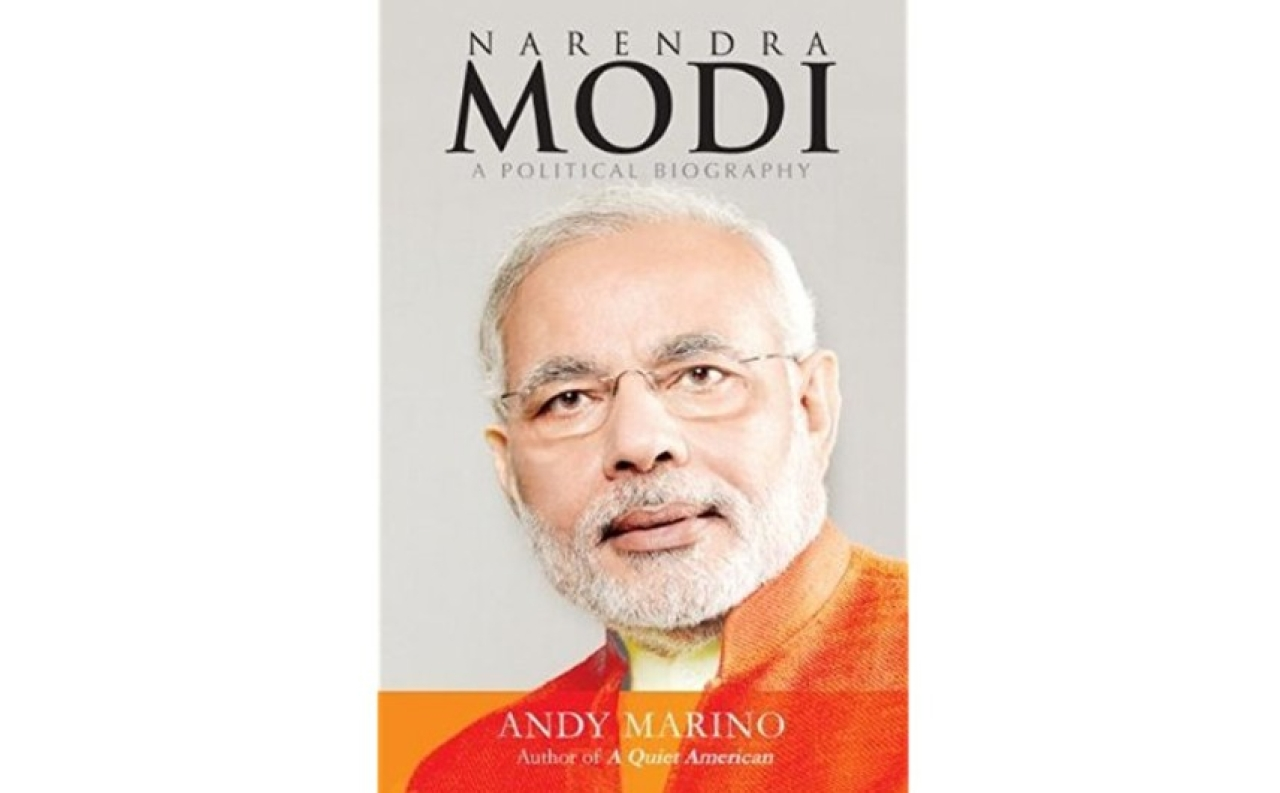 The cover of Andy Marino's <i>Narendra Modi: A Political Biography</i>.