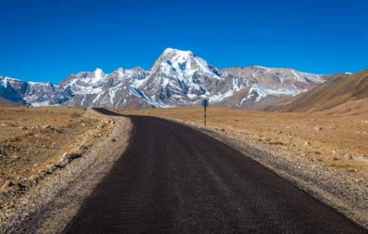 The 1,200km highway from Kolkata to Lhasa is not difficult to construct. There is full road connectivity except for a 15km stretch between Nathu La in Sikkim and Yadong in Tibet.