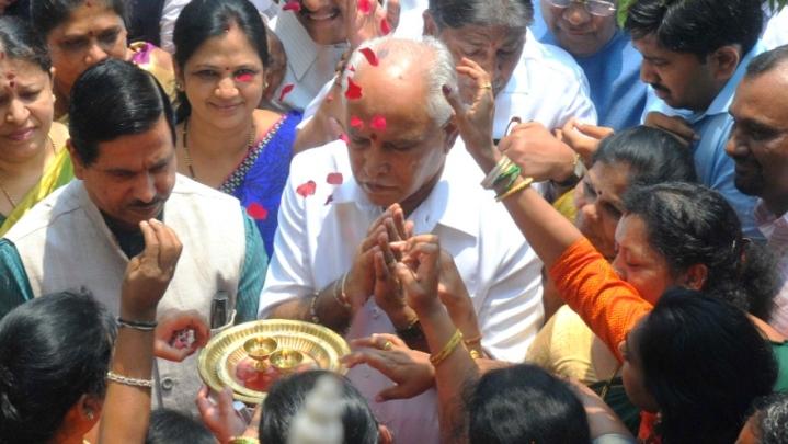 It's Official: BJP's B S Yeddyurappa To Take Oath As Karnataka CM Tomorrow