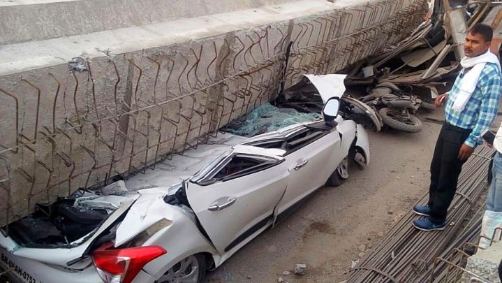16 Dead As Under Construction Flyover Collapses In Varanasi; Yogi Adityanath Announces Ex-Gratia