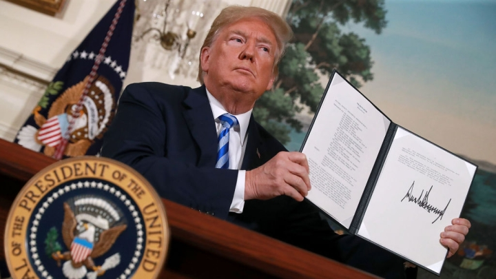 Trump's Scuttling Of Iran Nuclear Deal Will Hasten US Decline And Rise Of China