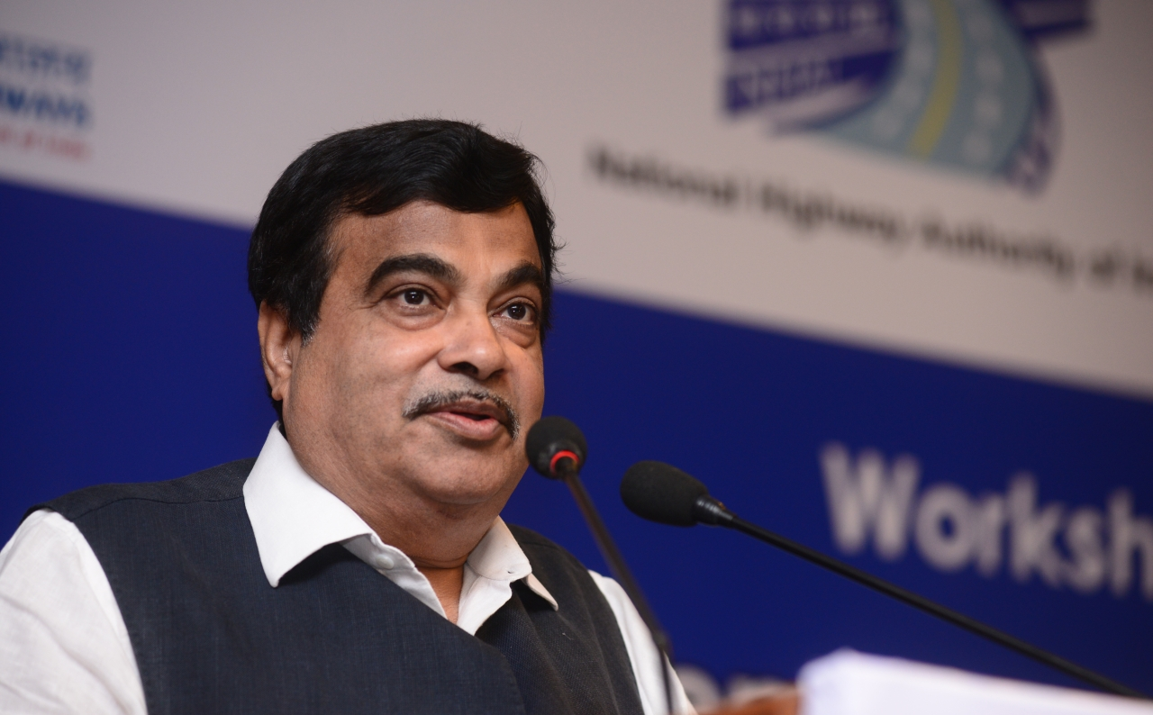 Minister for Transport, Highways and Shipping, Nitin Gadkari. (Ramesh Pathania/Mint via GettyImages)