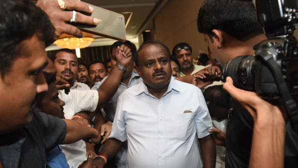 Kumaraswamy Goes To Trichy, Doesn't Commit Anything On Cauvery Issue