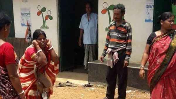 TMC Goons Allegedly Make Woman Do Squats Holding Ears In Front Of Party Office For Opposing Rigging