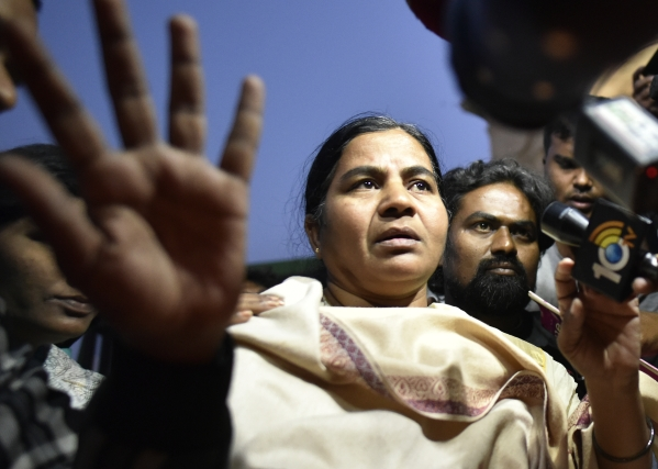 Rohith Vemula's Mother Accuses Muslim League  Of Using Her For Political Gains After Making False Promises