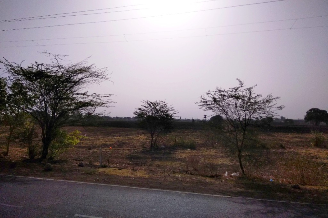 The Sun shines brightly over Mandsaur, which already has had its share of droughts in recent years.