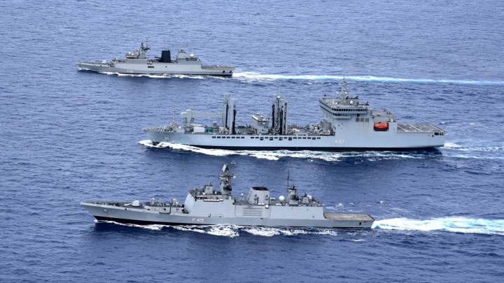 China Tried To Snoop On Indian Navy Warships Leaving South China Sea After Exercise With Vietnam: Report