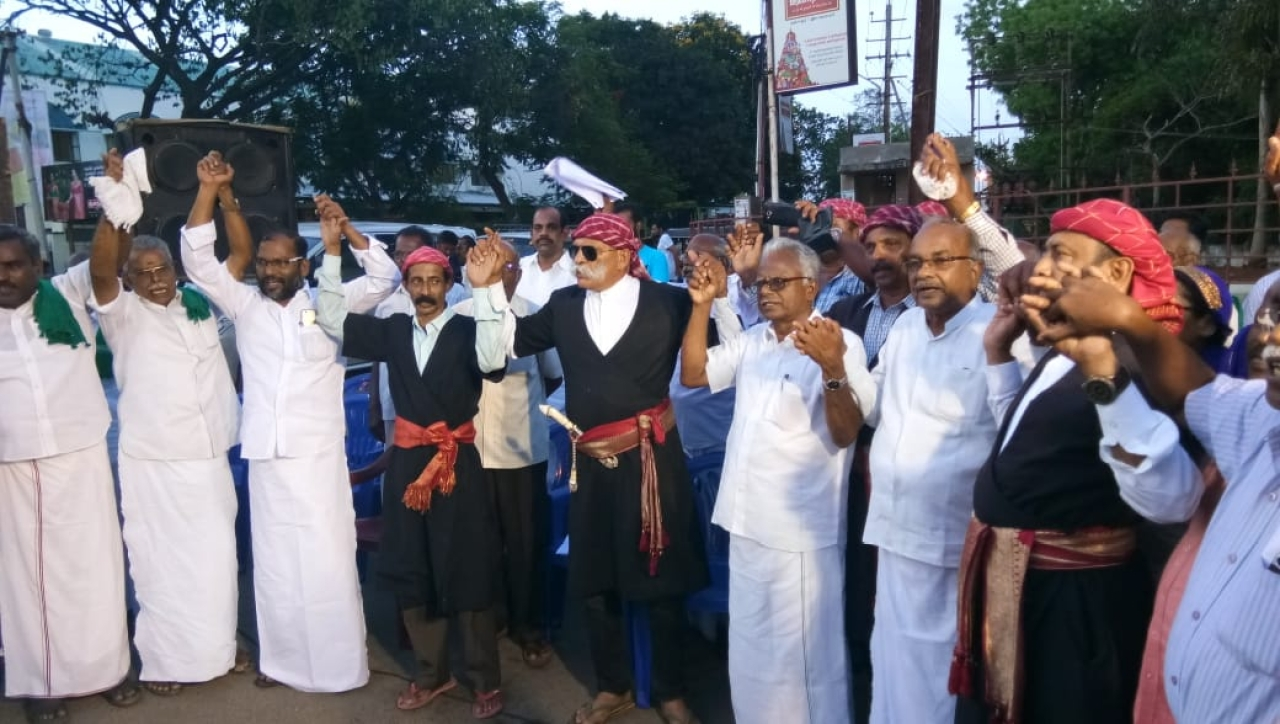 Codavas take out a <i>jatha </i>to make people in the Cauvery basin aware of its past glory and the need to revive it.