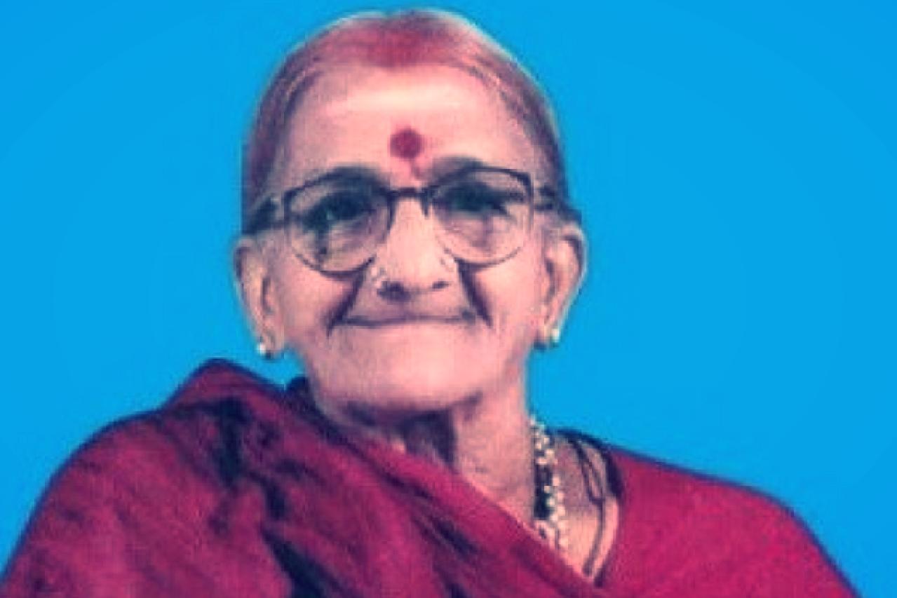Jambalakshmi Ramamoorthy, an ardent admirer of C Rajagopalachari