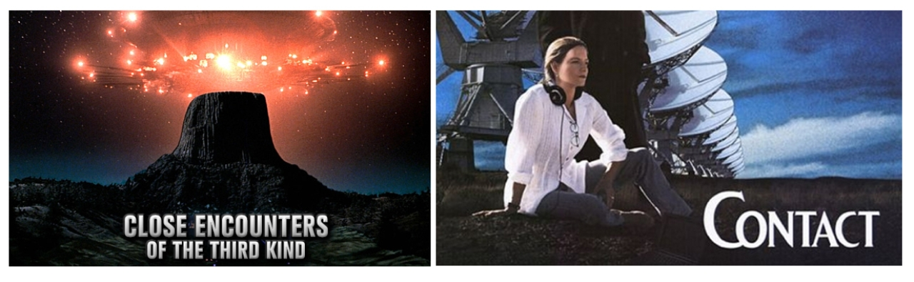 <i>Close Encounters of the Third Kind</i> and <i>Contact</i>, both Hollywood films, offer a study in contrast between the way human fantasy and science approach the subject of alien contact.