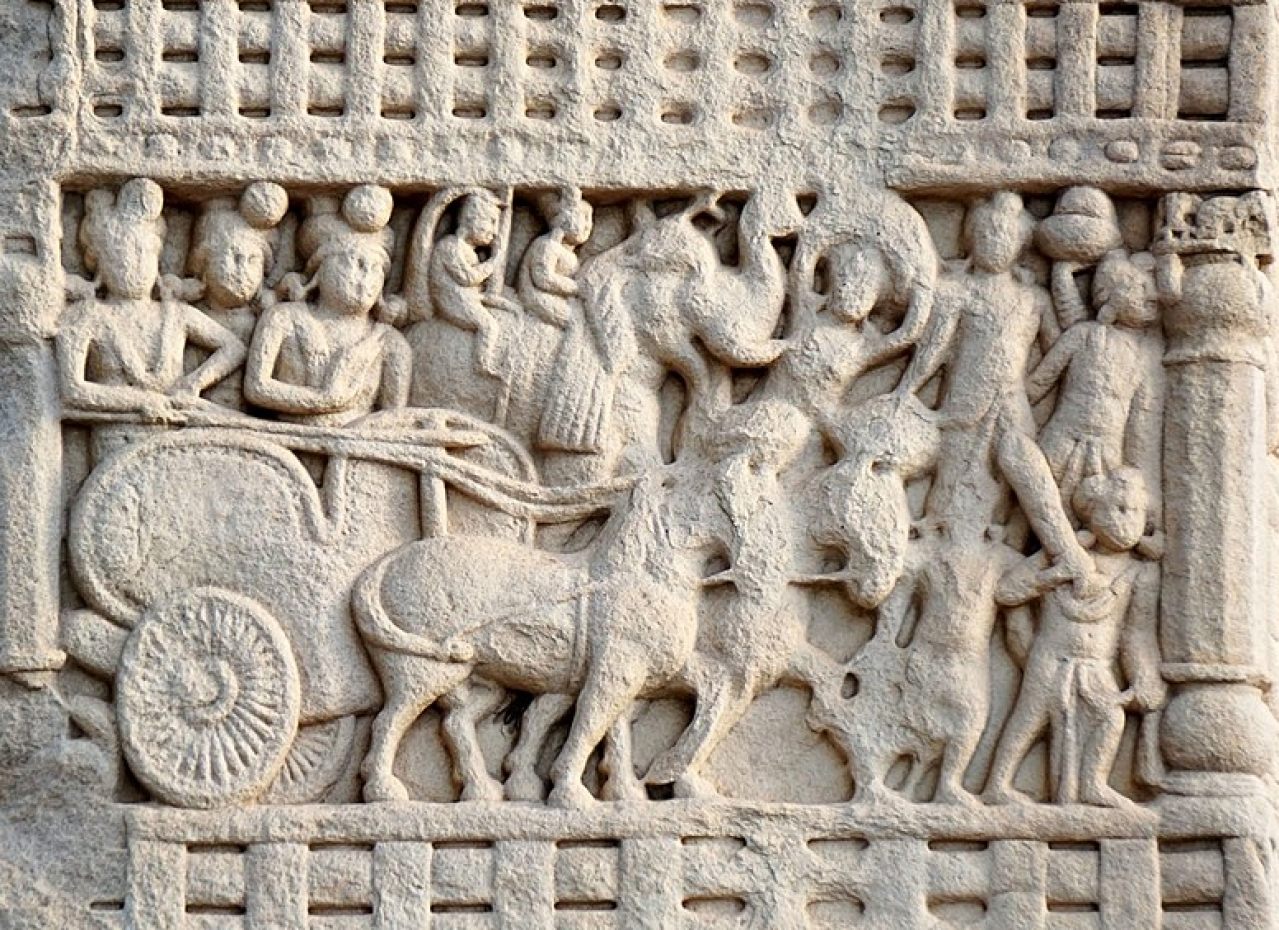 Ashoka's royal procession.