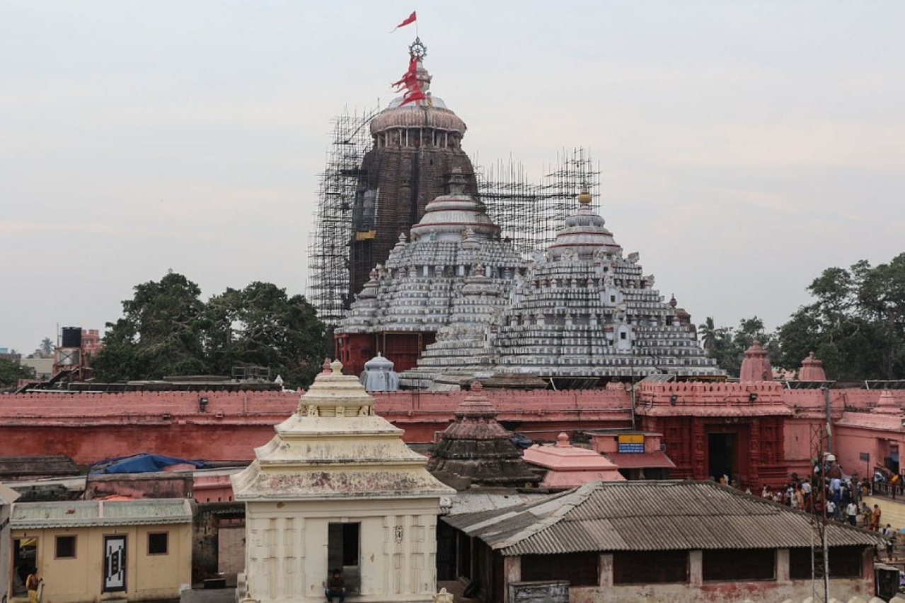 Shree Jagannath Temple of Puri (Bernad Gagnon/Wikimedia Commons)